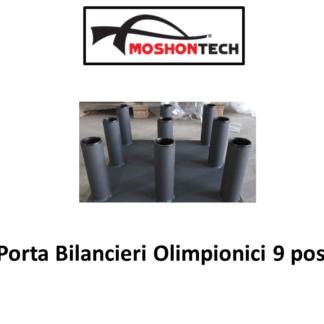 Porta Bilancieri Olimpionici 9 posti